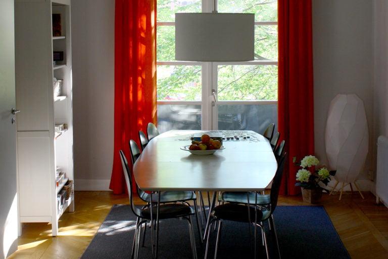 bord, interiör