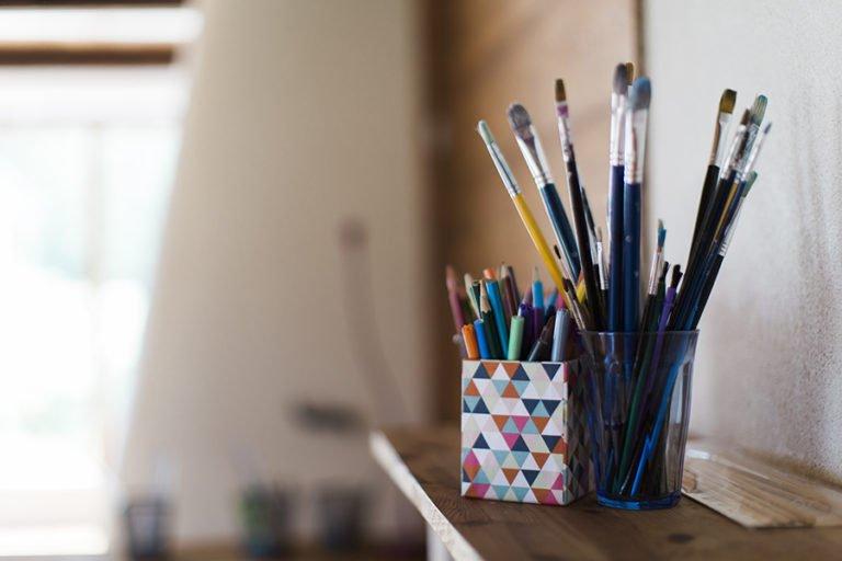 penslar och pennor